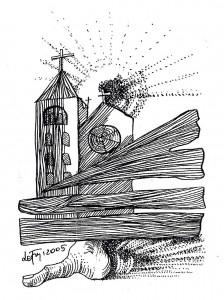 Autorem ilustracji jest artysta-grafik Leszek Frey-Witkowski ze Świebodzina
